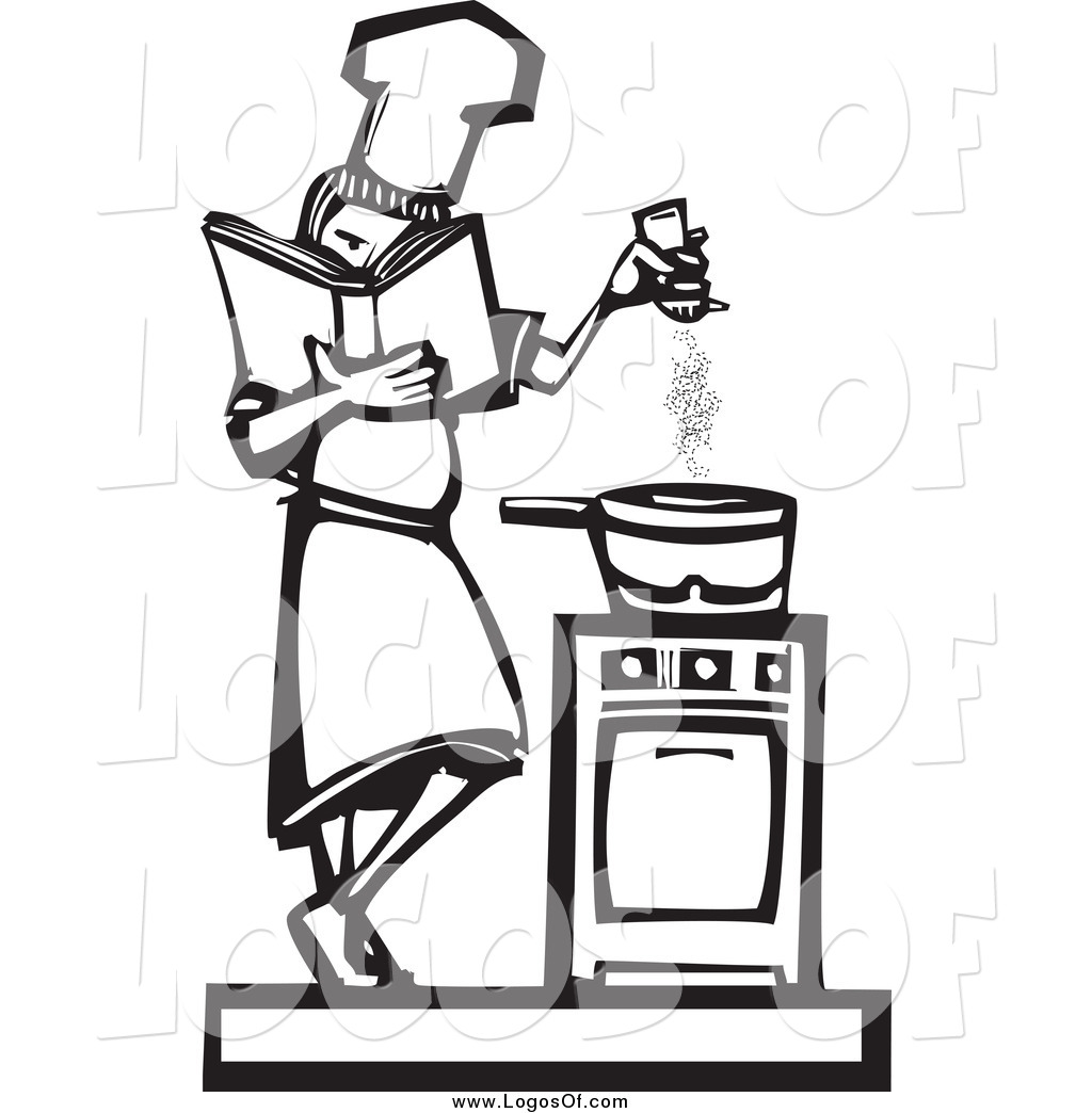 free black white food clipart images - photo #21