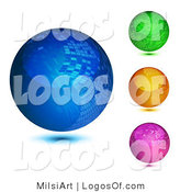 Logo of Mosaic Orbs by MilsiArt