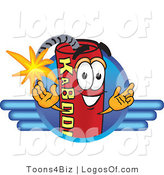 Logo Vector of a Dynamite Guy Logo by Toons4Biz