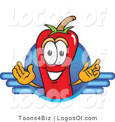 Logo Vector of a Spicy Chili Pepper Logo by Toons4Biz