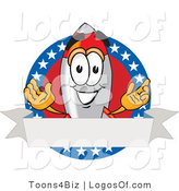 Logo Vector of an American Rocket Logo by Toons4Biz