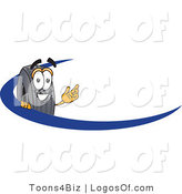 Logo Vector of an Automotive Rubber Tire and Swoosh Logo by Toons4Biz
