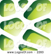 December 13th, 2013: Vector Clipart of a Green Stone Logo by Cidepix