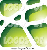 May 6th, 2014: Vector Clipart of a Green Stone Logo by Cidepix