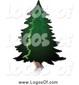 Vector Clipart of a Tree Logo by Vector Tradition SM