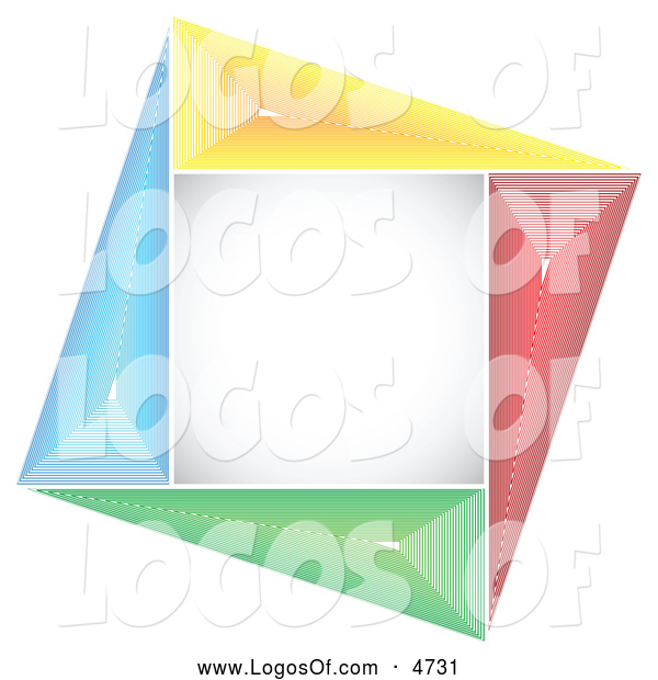 Logo Vector of a Colorful Square Abstract Logo