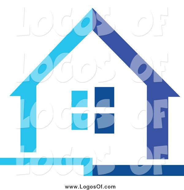 clip art blue house - photo #37
